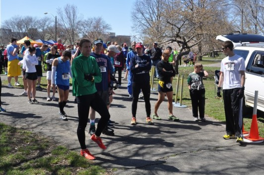 The inaugural Chicago race