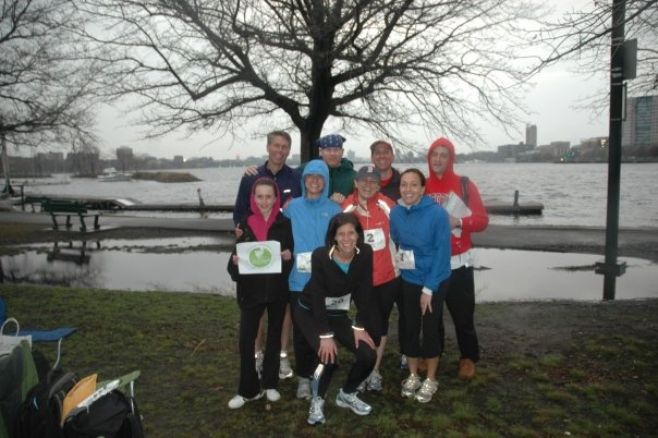Our first Earth Day race (2008)